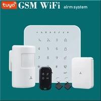 Kit facultatif de cambrioleur de systeme dalarme intelligent de securite a la maison de WIFI GSM
