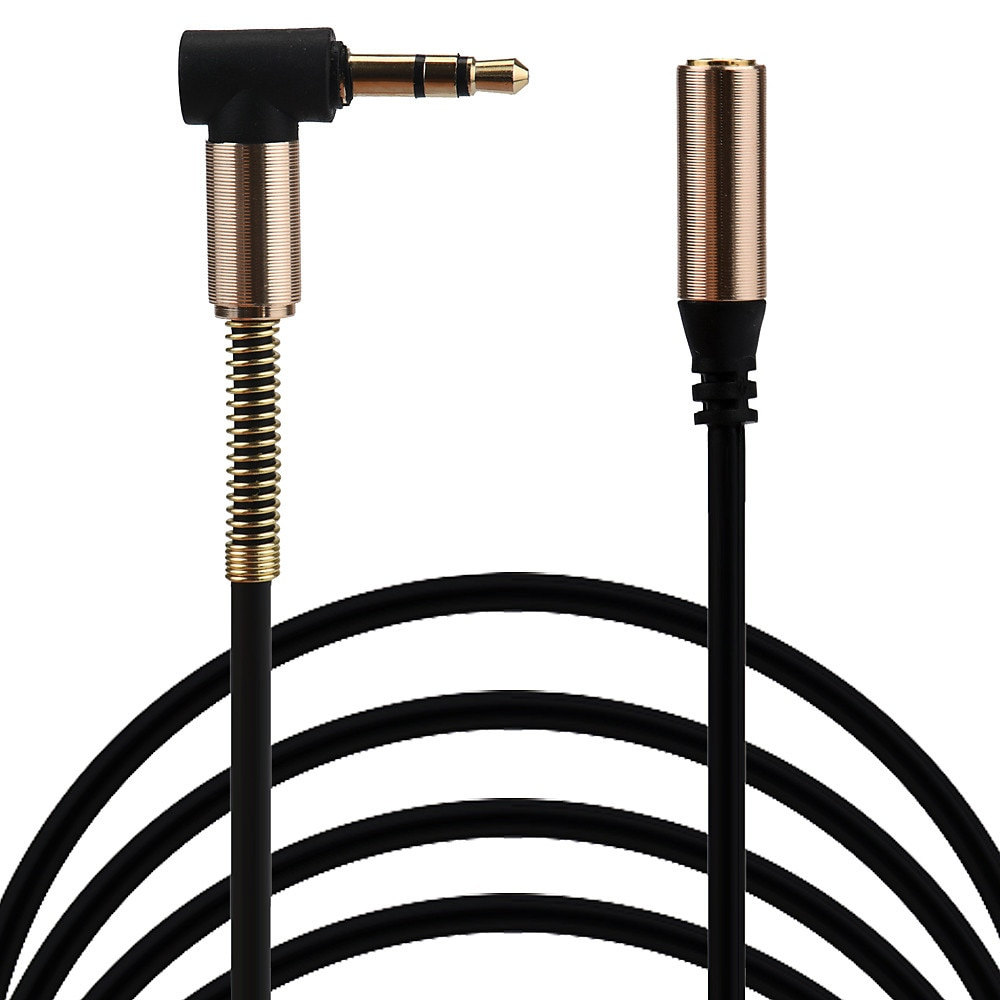Cable de extensión de Audio auxiliar para auriculares estéreo, conector macho a...