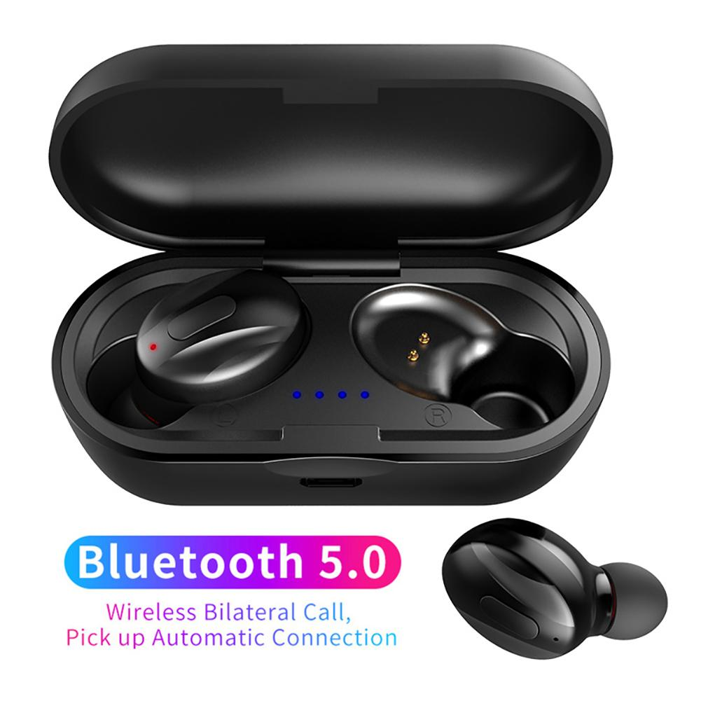 Wireless headset Bluetooth 5.0 noise canceling sports headset for video game calls Support all Bluetooth devices with microphone