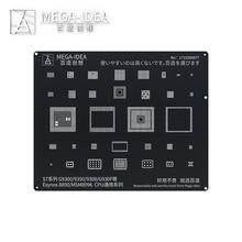 Qianli Mega Idea reboleo de BGA Stencil para Samsung S9 + S9 S8 + S8 S7 S6 + S6 serie placa base CPU REPARACIÓN DE reboleo de plantilla