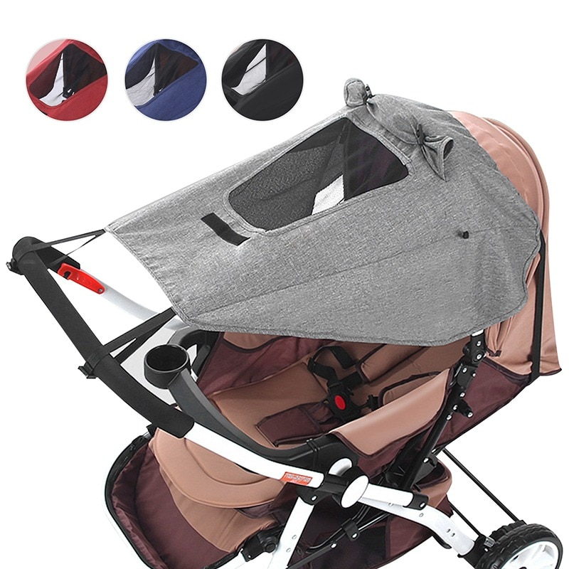 Baby Stroller Awning UV Protection Sunscreen Pushchairs Sun Canopy Universal Prams Sunshade Prams St
