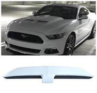 high quality pp material front bumper engine hood vent cover decorative for ford mustang 2015 2016 2017