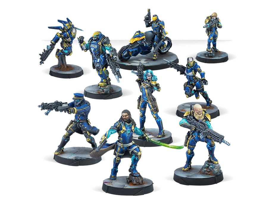 Model kits O-12 Starmada Action Pack  with base  Z007