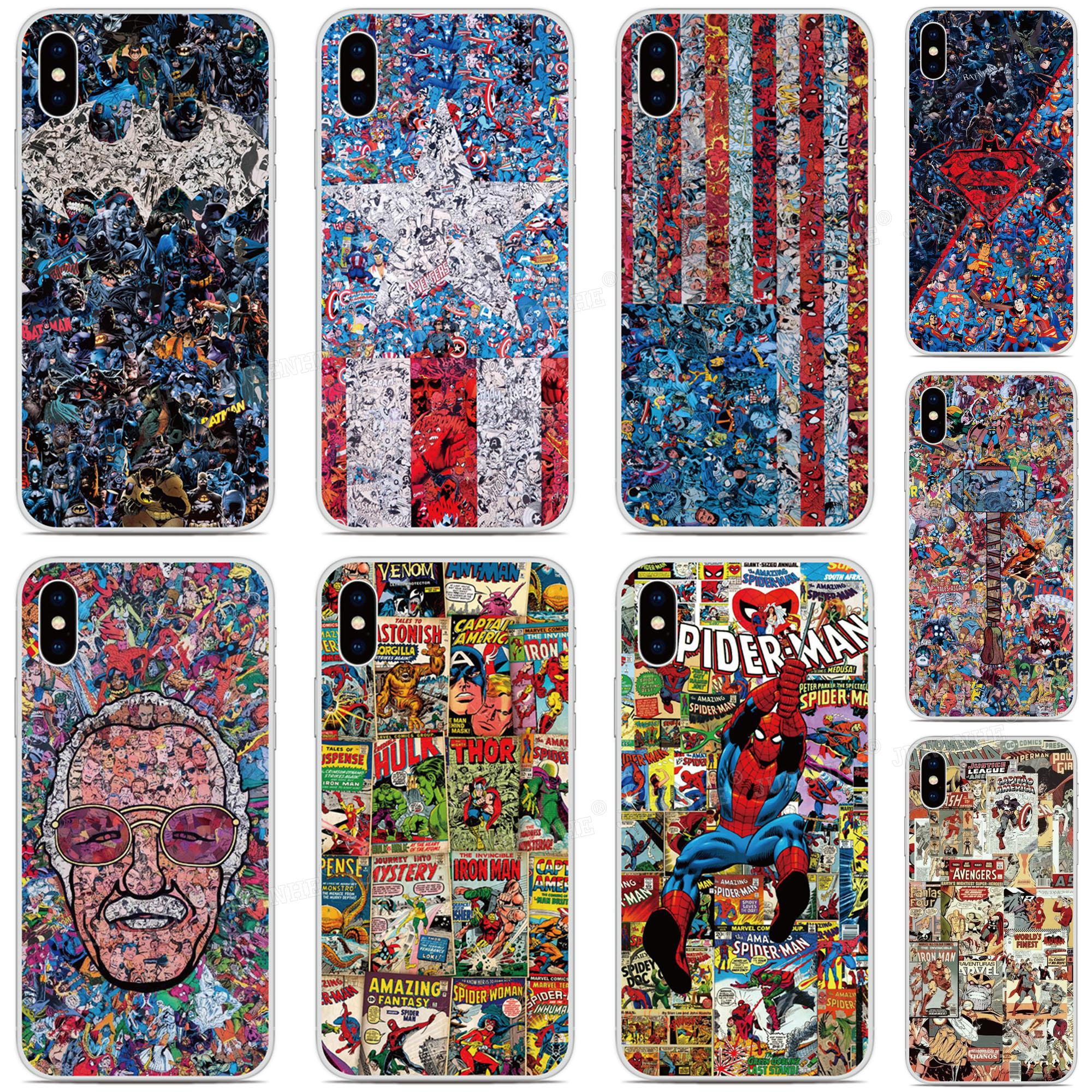 Batman Super Hero Phone Case For BlackBerry-Priv KEYone KEY 2 Motion Passport Q30 Z10 Z30 Q10 DTEK50 DTEK60 DTEK70 Cover Capa