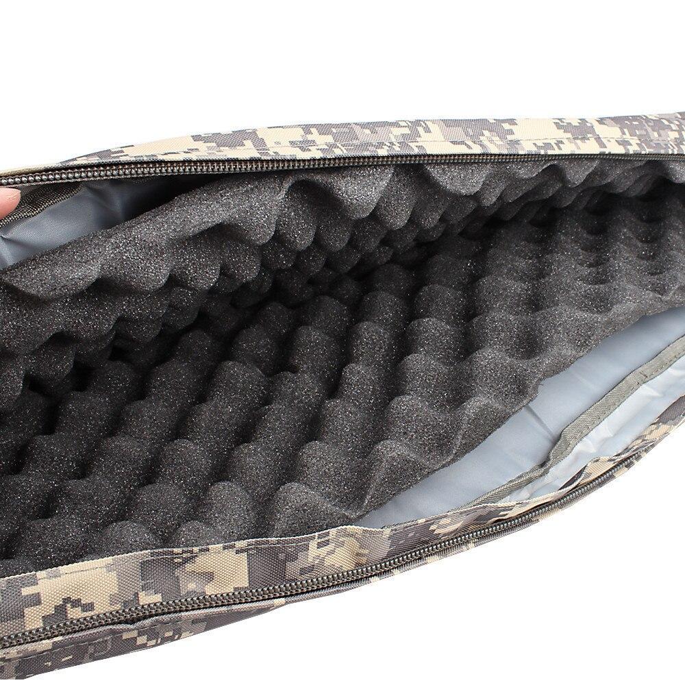 READY STOCK-Outdoor 120 cm hunting fishing bag bevel multi-function hang bag shockproof bag egg cotton handbag fishing gear enlarge