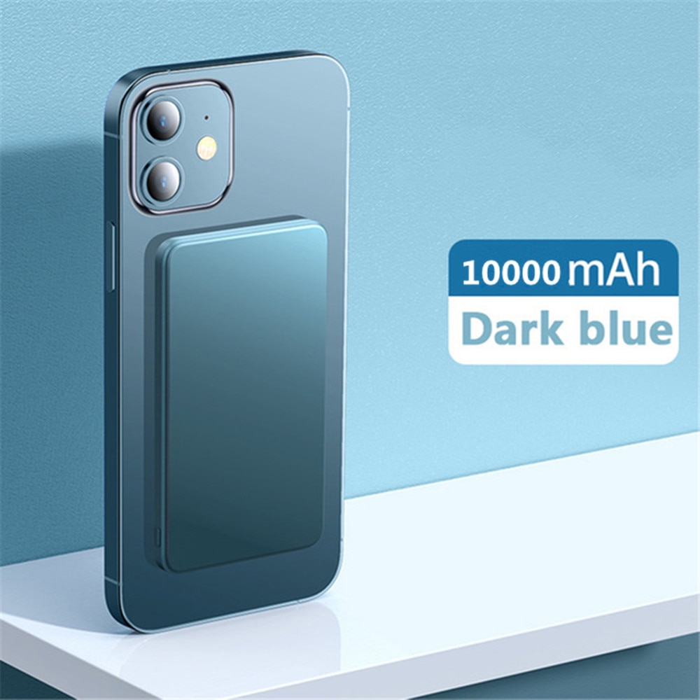 10000mAh Magnetic Power Bank For magsafe 15W Wireless Fast powerbank For iphone 12 12pro max 12mini