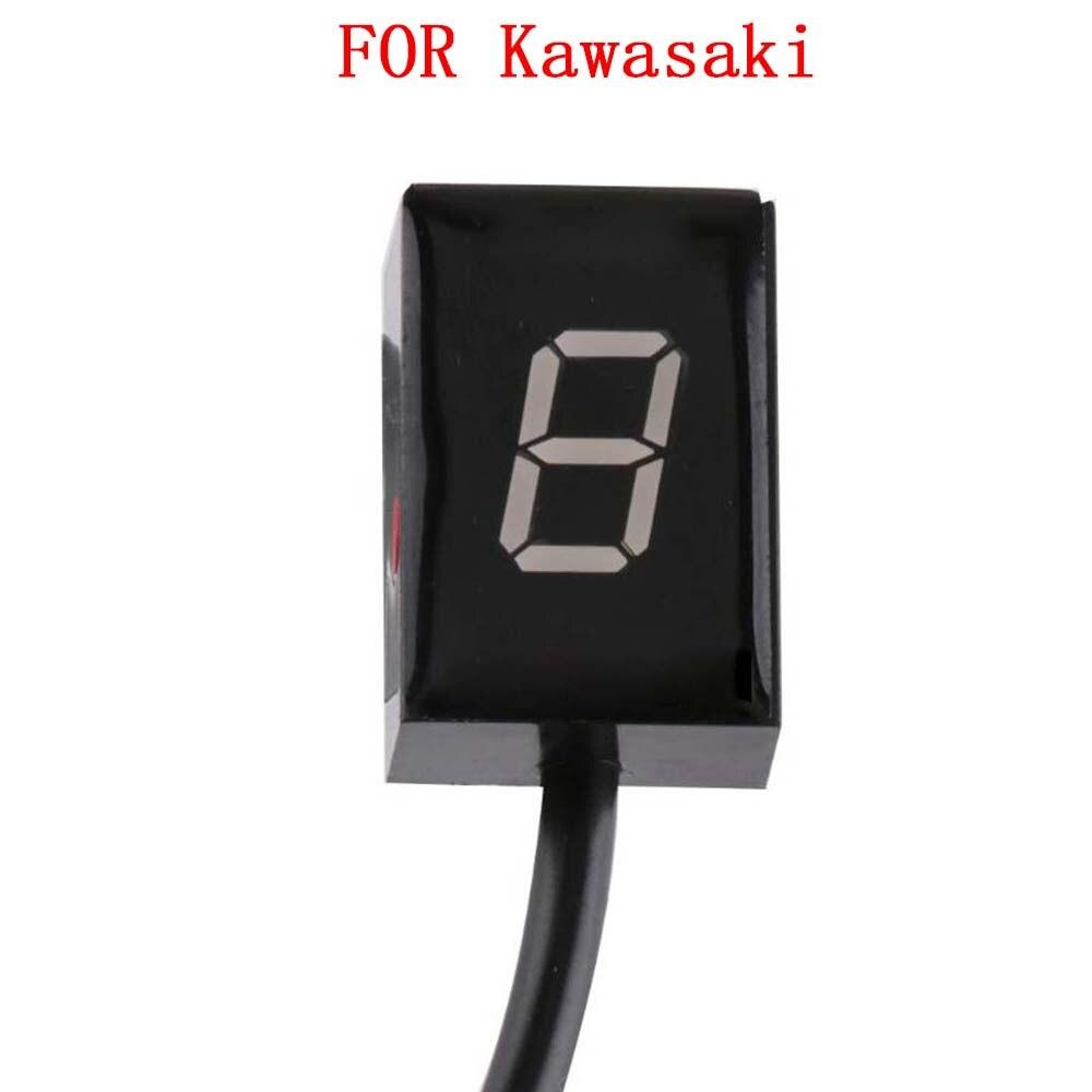 مؤشر عرض السرعة للدراجات النارية Kawasaki Z250/SL Z300 Z650 Z750 Z750R Z800 Z800E Z900 Z1000 بمقبس وحدة التحكم في مستوى 1-6