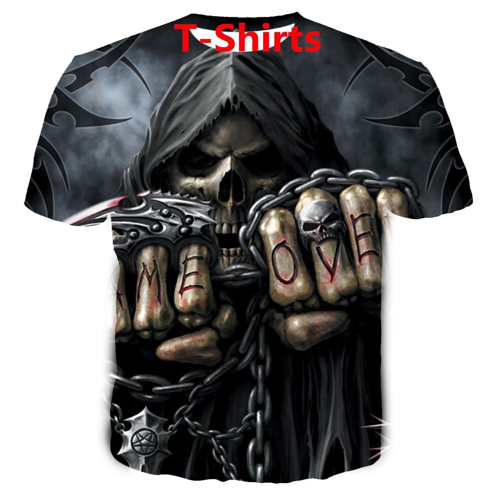 Reaper Game Over Women 3d print t shirts/sweatshirt/hoodie/pants fashion men harajuku funny cool tee streetwear hip hop pullover