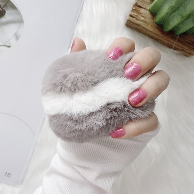 Luxury Fleece Wireless Bluetooth Earphone Case Cute Soft Plush Protective For Airpods Pro3 Protector Headset Cover