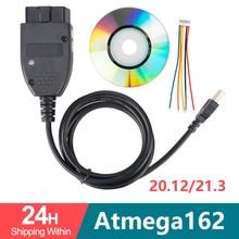 VAG COM 20,4 VAGCOM 20.4.2 HEX CAN USB интерфейс для VW AUDI Skoda Seat VAG 19,6 многоязычный ATMEGA162 + 16V8 + FT232RL
