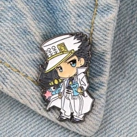 lt760 japanese anime cute manga icons enamel pin badge cartoons collar lapel pin for backpack decoration jewelry gifts