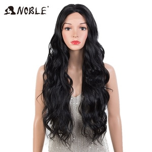 Noble Synthetic Wigs For Black Women 30 inch Long Lace Wig Ombre Blonde Wig  Cosplay Wig High Temperature Fiber Synthetic Wig