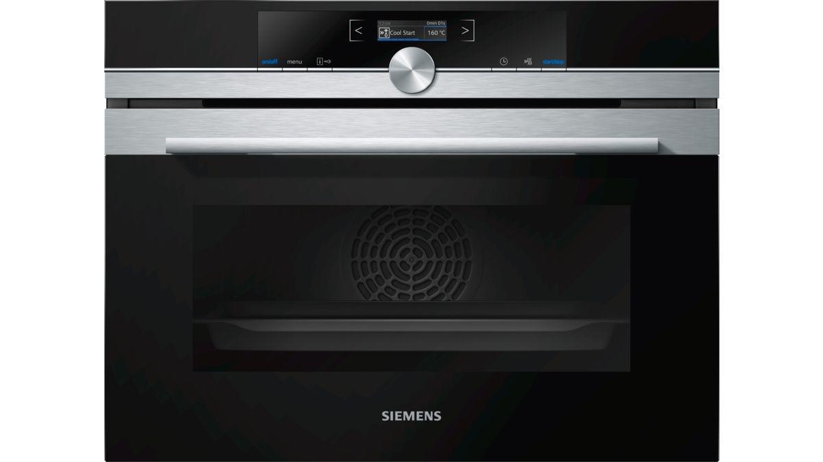 Siemens iQ700 CB675GBS3 electrics oven 47 L 2990 W Black, Stainless steel A +
