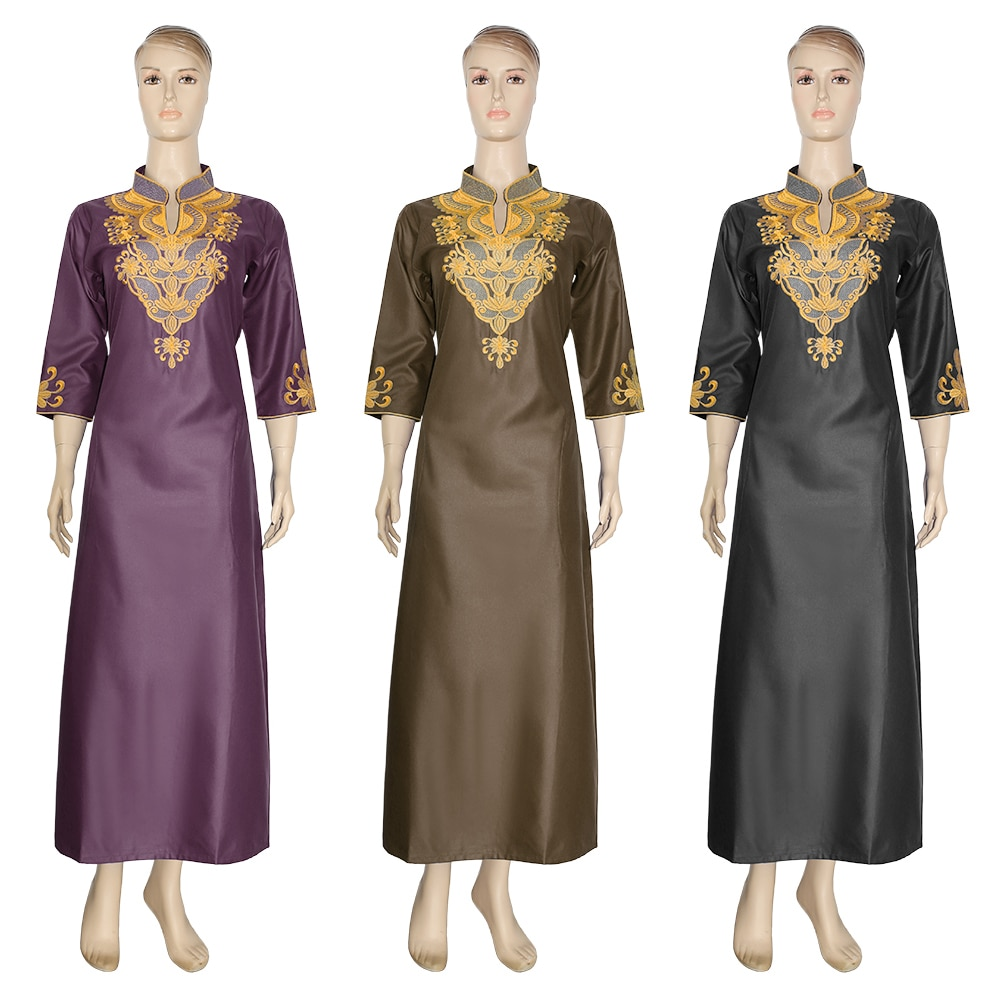 AliExpress - MD African Dresses For Women Robes Dashiki African Women's Long Dresses Traditional South Africa Clothes Ladies Embroidery Dress