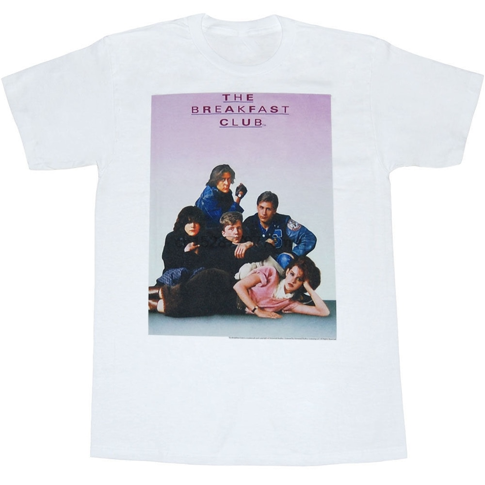 The Breakfast Club Movie Poster T-Shirt High Quality Tee Shirt
