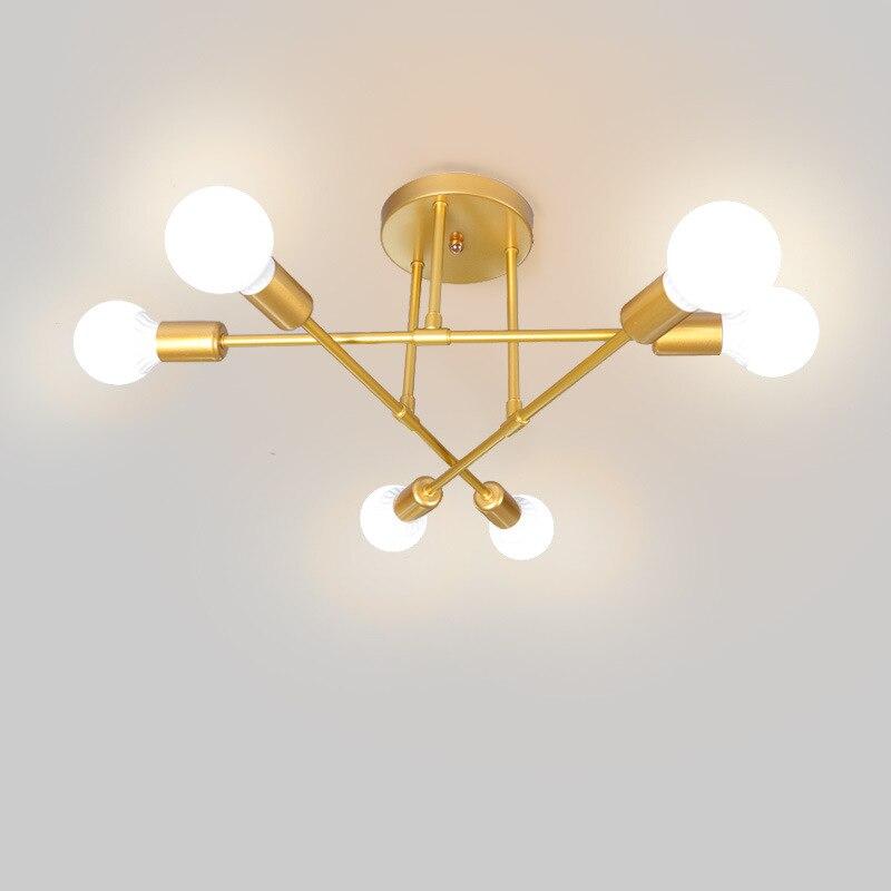 Lámpara De Techo nórdica para sala De estar, iluminación Moderna para dormitorio...