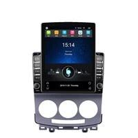 eastereggs head unit 2 din 2 5d 9 7 tesla android car radio multimedia player navigation gps for mazda 5 2005 2010 auto stereo