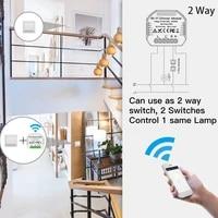 Variateur de lumiere rotatif WiFi intelligent  Mini memoire de luminosite  application Smart Life Tuya  telecommande  fonctionne avec Alexa Google Home  DIY