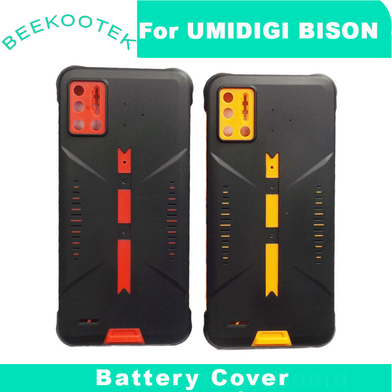 UMIDIGI BISON Battery Cover Housing Original New Durable Back Cover Housing Mobile Phone Accessory for UMIDIGI BISON