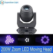 Éclairage détape de lumière de lavage de tache de faisceau principal mobile de 200W Zoom LED DMX 16/18CH pour des décorations de noce détape de Disco