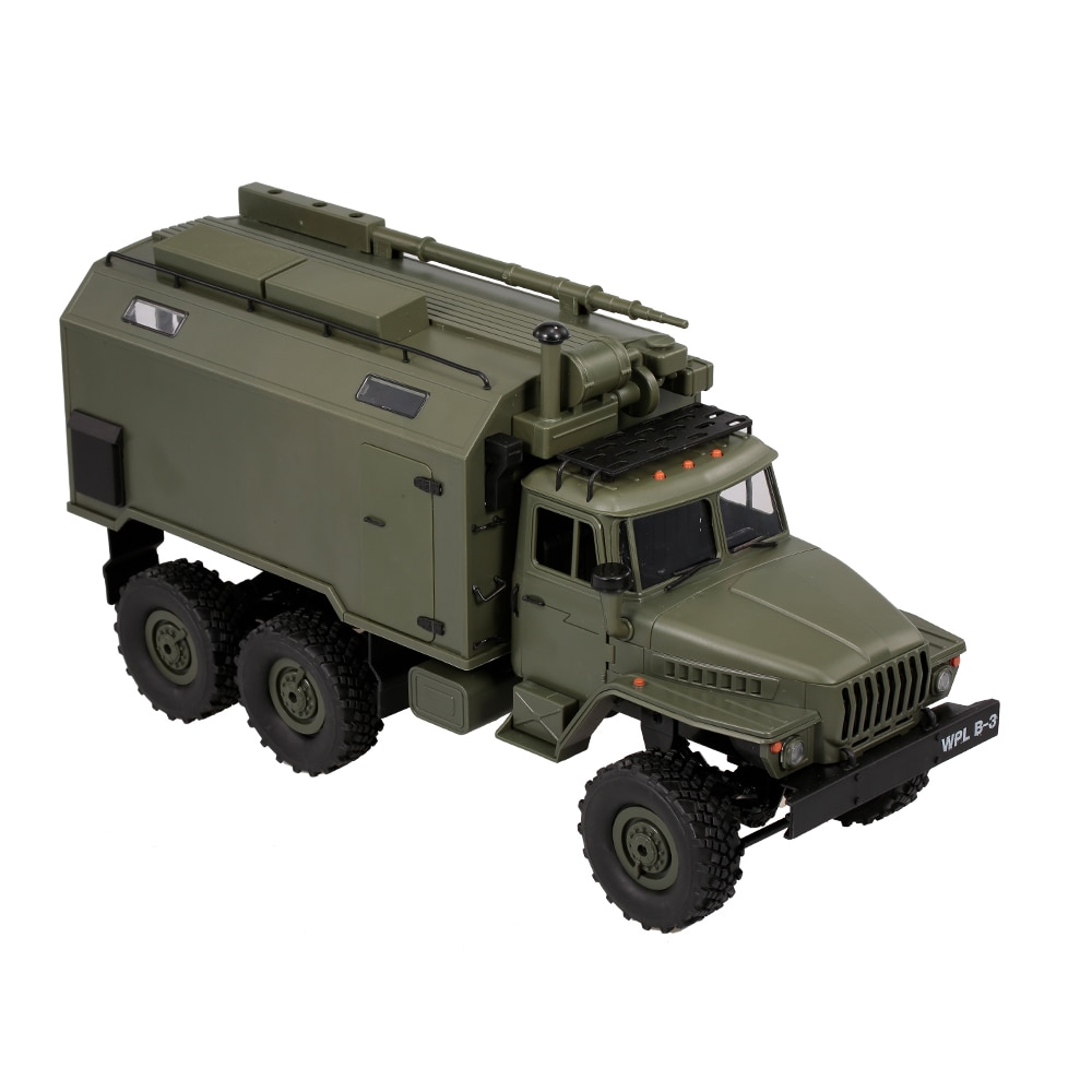 WPL B36 1:16 RC Military Command Vehicle Remote Control Car 2.4G 6WD Army Cars Gift Kids RC Car Toys for Children Kids Gifts enlarge