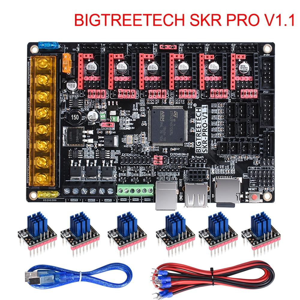 BIGTREETECH SKR PRO V1.1 Control 32Bit Junta V SKR V1.3 TMC2208 TMC2209 TMC2130 3D piezas de la impresora MKS rampas 1,4 para Ender 3