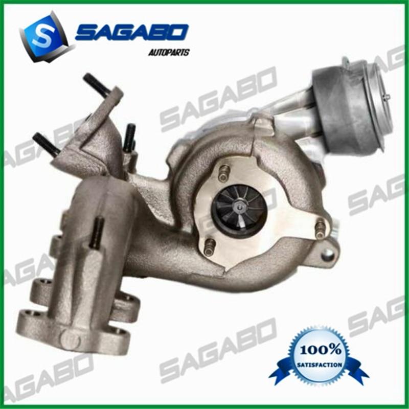 Turbocompresor GT1749V 713673 1-454232-2 454232-6 de la turbina turbo completo para Audi Ford, Seat Skoda Volkswagen 1,9 TDI AUY AJM ASV 1999-2007