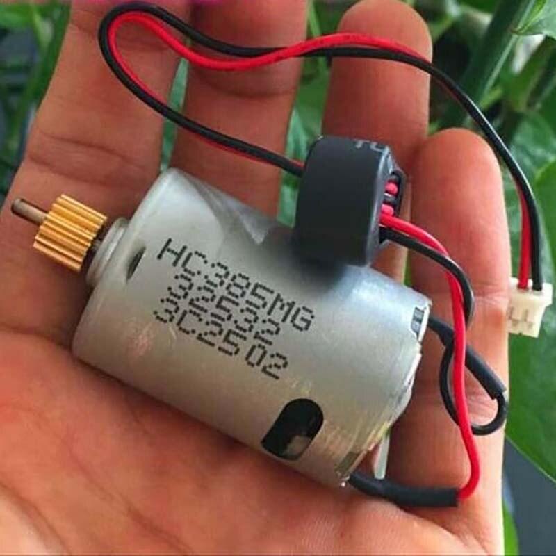 1 шт. 385 Джонсон HC385MG двигатель постоянного тока 3-12 В 28700 об/мин высокая скорость с высоким крутящим моментом углеродная щетка микро мотор с зу...