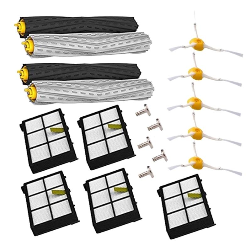 Kit de remplacement pour Irobot Roomba, brosses et filtres AD, pièces de rechange, accessoires pour aspirateur, séries 800/900, 800, 860, 870, 880, 900