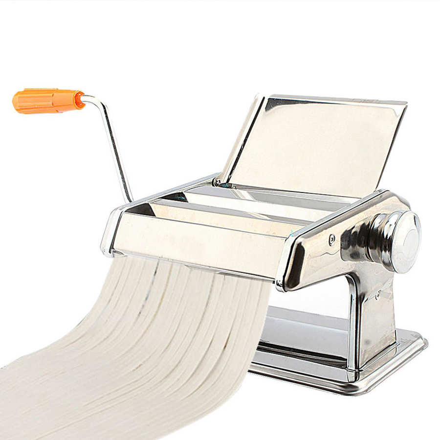 Fabricante de Pasta hecha a mano 3 en 1, máquina para hacer Pasta de acero inoxidable, máquina para espaguetis Fabricante de fideos