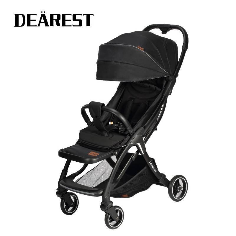 2021 New Baby Stroller Wagon Portable Folding Baby Car Lightweight Pram Baby Carriage Travel Baby Pushchair enlarge