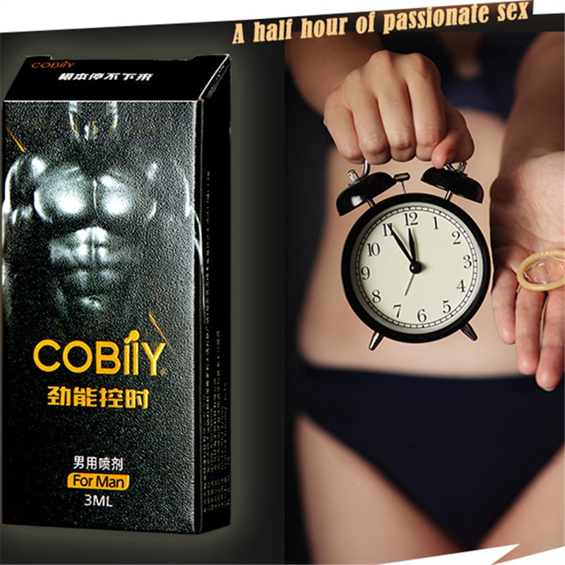 COBIIY Poweful Long-last Delay Spray Products Male Sex Spray for Penis Men Prevent Premature Ejacula