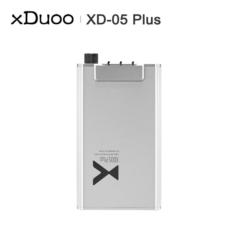 Xduoo XD-05 plus 1000 mw saída portátil usb dac amplificador de fone de ouvido amp com xmos xu208 ak4493eq 32bit/384 khz dsd256