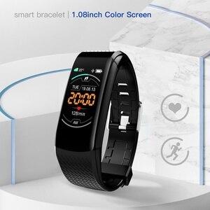 Fitness Bracelet Ip67 Waterproof Fitness Tracker Smart Bracelet Blood Pressure Heart Rate Electronic Smart Band Watch For Sport