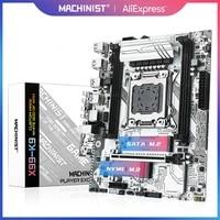machinist x99 motherboard lga 2011 3 with dual m 2 support four channel ddr4 eccnon ecc ram e5 2678 v3 e5 2620 2650 v3 x99 k9