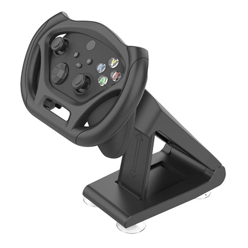 Gamepad corrida volante para xboxseries x/s controlador jogo de corrida volante bracke