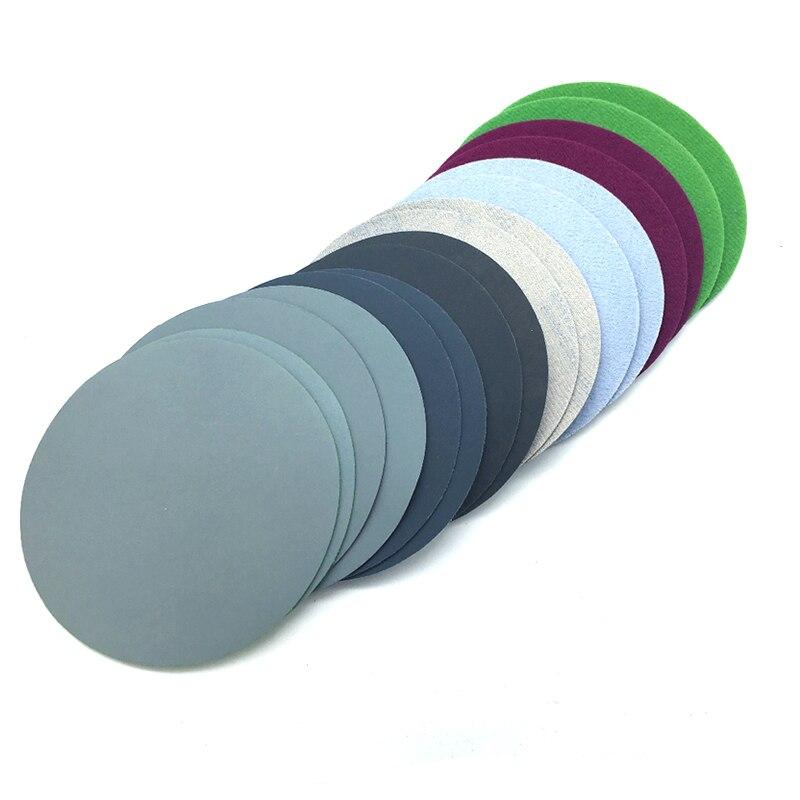 Prático 75mm 800//1500/2000/3000 grit água lixamento seco 20 pcs discos folha lixa m