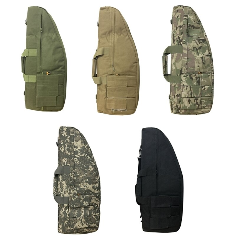 Estuche de almacenaje para Rifle de 70cm, 95cm, 118cm, mochila, bolso militar para arma con correa de hombro acolchada y bolsas