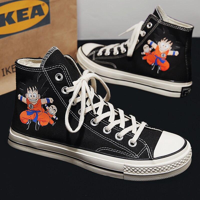 Новая мужская спортивная обувь, повседневная модная обувь для доски, Студенческая спортивная обувь, уличная спортивная обувь с вулканизиро...