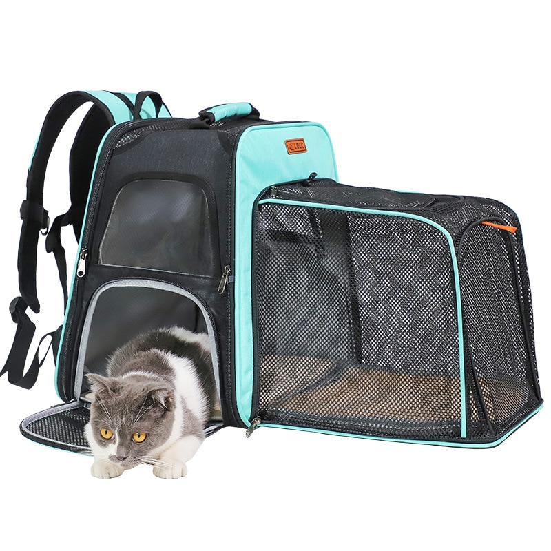 Mochila plegable portátil para mascotas de bolsa de almacenamiento superligera ¡bolso extensible...