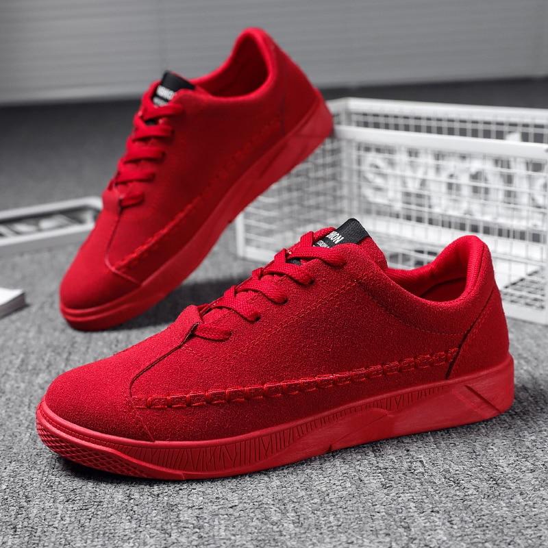Hombre zapatillas rojas negro pisos Zapatos transpirables zapatillas de correr para hombre al aire libre confort Zapatos Zapatillas de Zapatos de hombre