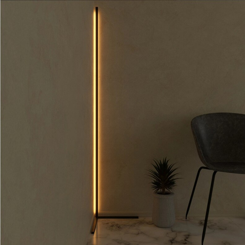 Lámpara led moderna de cristal para el suelo, lámpara de techo para comedor, cocina o comedor