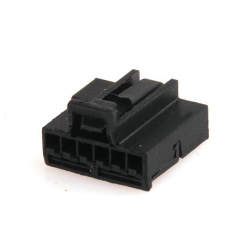 مجموعة من 5 أو 10 أو 20 موصلات كبل كهربائي أوتوماتيكية 6 سنون ، غير محكمة الغلق ، 1-969508-2