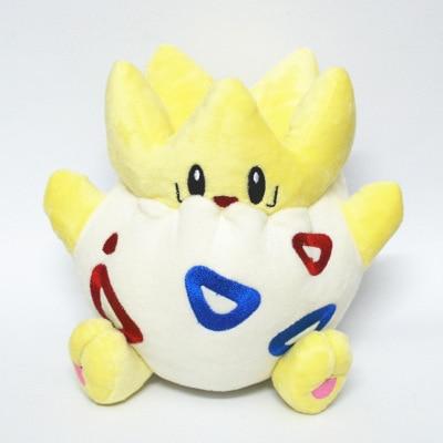 Kawaii Togepi de peluche de juguete de dibujos animados Anime Pokemon monstruo Togepi suave animal relleno juguete muñecas para chico bebé regalos de navidad cumpleaños
