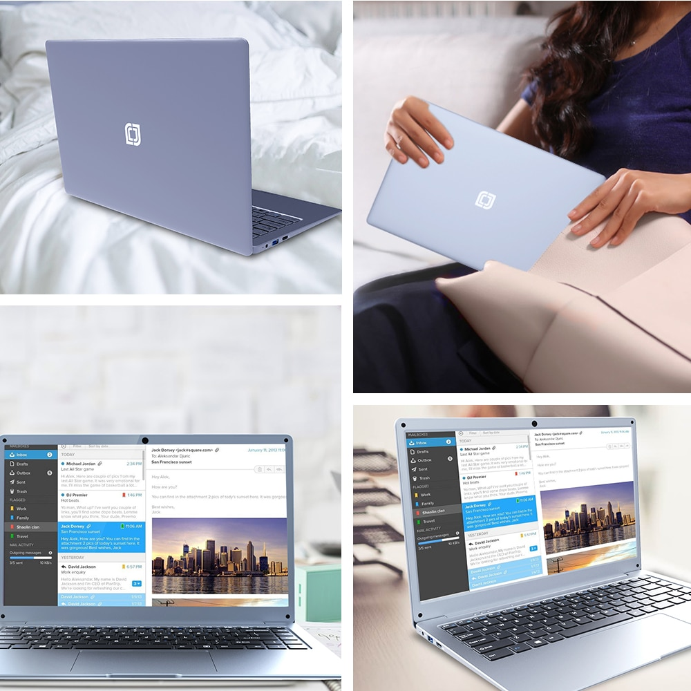 2021 Jumper EZbook S5 12GB 256GB Premium Notebook 14 Inch 1920*1080 IPS Screen Intel Celeron  Ultra Slim Laptop With Windows 10