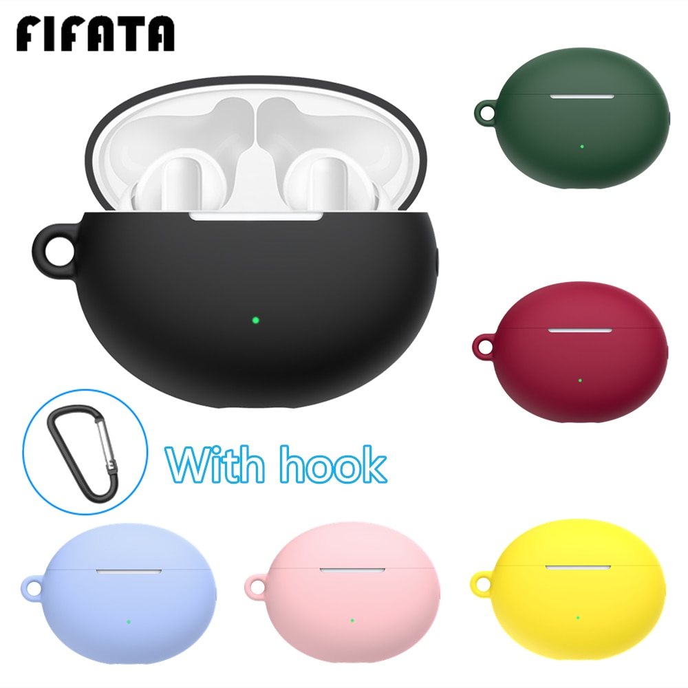 FIFATA Silicone Earphone Cover Case For Huawei Freebuds 4i Headset Protector Shell Accessories For F