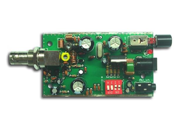 BH1415F BH1416F BH1417F 100 metros de circuito cerrado de fase FM Placa de Transmisor estéreo/con Diagrama de Circuito