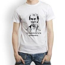 Litchi filles FERNANDO SIMÓN impression t-shirt hommes col rond blanc T-shirts été à manches courtes T-shirts esthétique t-shirt hauts Streetwear