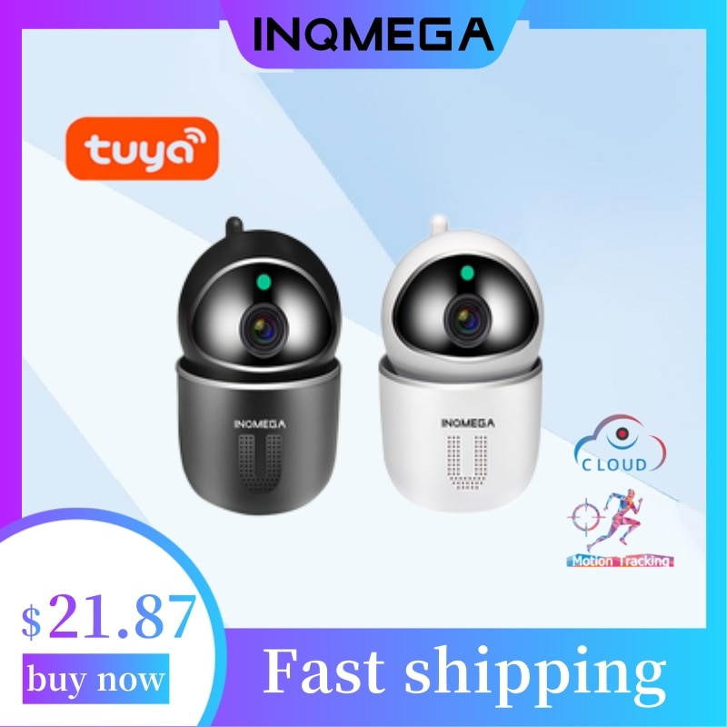 INQMEGA Tuya واي فاي 1080P سحابة IP كاميرا مراقبة الطفل تتبع السيارات الأمن كاميرا داخلية لاسلكية CCTV شبكة مراقبة