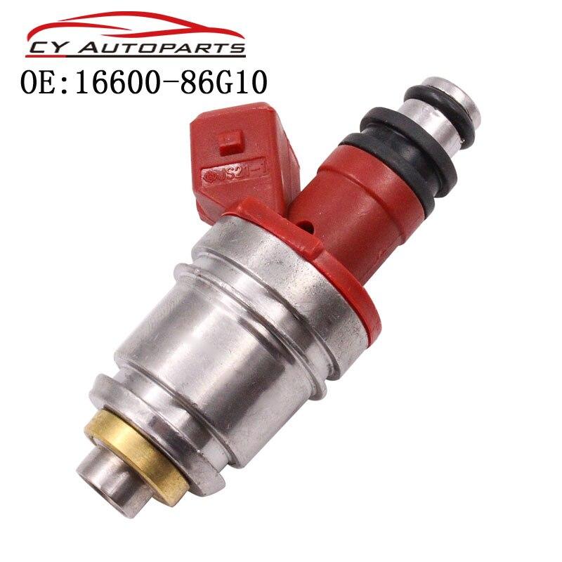 Nuevo inyector de combustible para 1990-1995 Nissan Pickup D21 2.4L I4 16600-86G10 1660086G10 16600-86G00 1660086G00